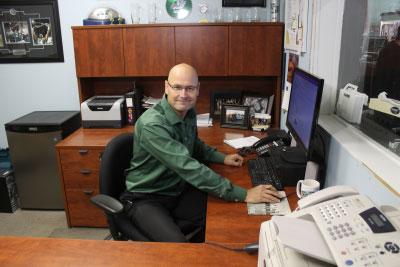 Brad Kennedy, Branch Manager