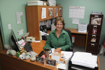 Joanne Kolendreski, Office Manager