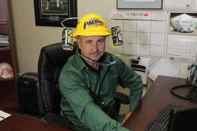 Rick Smith, Purchasing Manager